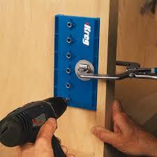 kreg cabinet hardware jig kreg shelf pin jig with 5mm bit