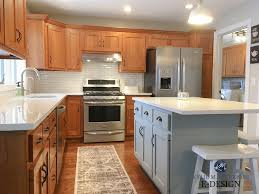 what color goes with oak cabinets update oak or wood cabinets without a drop of paint