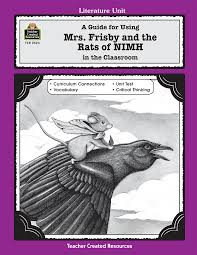 a guide for using mrs frisby and the rats of nimh in the