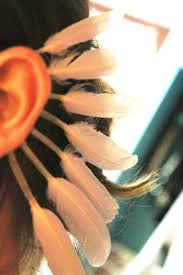 how to make feather ear cuffs standing feather ear cuff how to make a cuff earring how to by