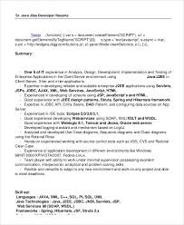 java resume sample hitecauto us