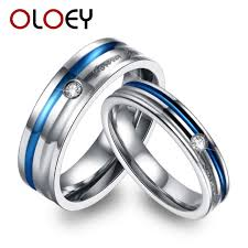 wedding bands design forever design couples wedding bands jewelry blue titanium
