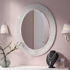 oval bathroom mirrors you u0027ll love wayfair
