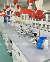 lab bench molecular biology steel lab bench furniture with resin top used in molecular biology lab