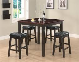 Cappuccino Dining Room Furniture Sophia Cappuccino Wood And Marble Pub Table Set Steal A Sofa