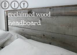 reclaimed wood headboard king diy reclaimed wood headboard