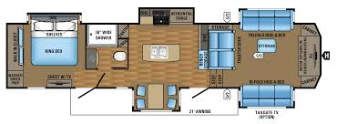Big Country 5th Wheel Floor Plans 2017 Luxury Fifth Wheel Floorplans U0026 Prices Jayco Inc