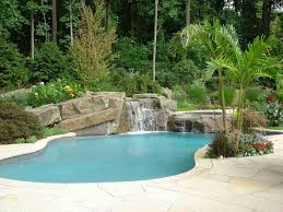 Backyard Swimming Pool Designs by Backyard Design Beautiful Redwood Pergola Designed With Mini Bar