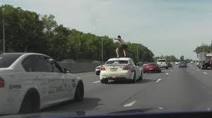 surf car insanity car surfing on bmw m5 youtube