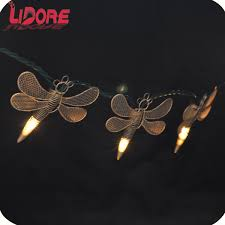 Dragonfly String Lights by Heshan Hongshun Lighting Co Ltd Holiday Lights Christmas Lights