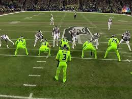 seattle seahawks u0027color rush u0027 uniforms are bright green business