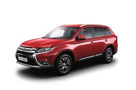 red mitsubishi outlander new mitsubishi cars