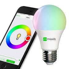 light bulbs controlled by iphone mimoodz bluetooth smart led light bulb iphone controlled dimmable