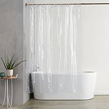 Shower Curtain Liners Amazonbasics Heavyweight Clear Shower Curtain Liner