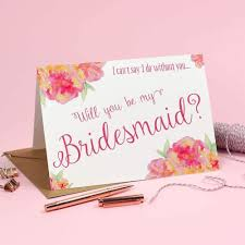 in bridesmaid card will you be my bridesmaid card christine eivissa designs