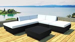 canapé jardin salon jardin d angle modulable en résine table basse kulua