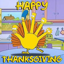 happy simpsons thanksgiving picture ebaum s world