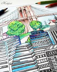 colouring in pages hattifant