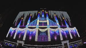 christmas light show 2016 christmas light show at rockefeller center nyc 2015 4k youtube