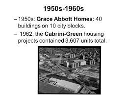 chicago housing projects map chicago housing the 1950s housing act of 1949 cha