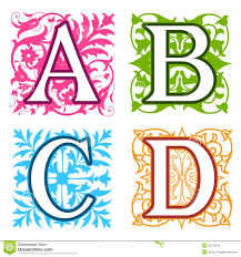 decorative alphabet letters clip 101 clip