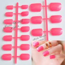 online get cheap pink nail tips aliexpress com alibaba group