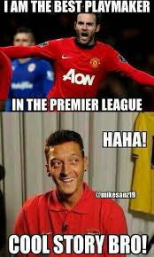 Mourinho Meme - soccer memes on twitter jose mourinho managed mata and 纐zil he