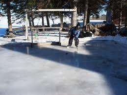 small backyard ice rink backyard ice rink u2013 delightful outdoor ideas