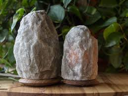 Himalayan Salt Lamp Rare Grey Fair Trade Himalayan Salt Lamps Set Of 2 So Well