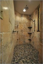 stone tile shower best stone shower ideas on log cabin bathrooms