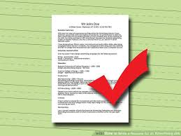 Resume For A Marketing Job by 3 Ways To Write A Resume For An Advertising Job Wikihow