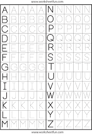 printable alphabet tracing sheets for preschoolers make a printable alphabet letter tracing worksheets letter tracing