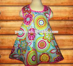 latest dress designs for kids floral long dresses for kids knit