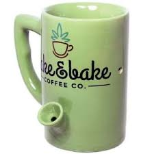 and bake mug 8oz ceramic coffee pipe mug and bake coffee company
