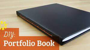 diy portfolio book sea lemon youtube