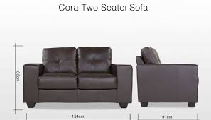 Contemporary Black Leather Sofa Leather Sofa 2 Seater Russcarnahan Com