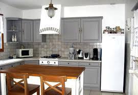 cuisine peinte en gris cuisine repeinte en gris cuisine en cuisine peinte en gris et