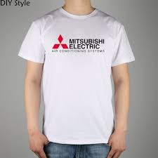 logo mitsubishi electric air conditioning systems t shirt top