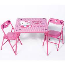 table and chair set walmart hello kitty activity table and chairs set walmart com