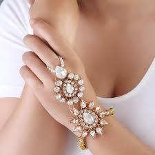 bracelet with ring designs images Designer ring bracelet at rs 140 piece designer bracelets id jpg
