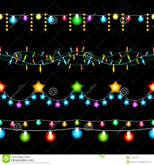 Colored Christmas Lights by Christmas Lights Patterns Stock Vector Image 47505428
