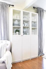White Curio Cabinet Furniture Fantastic Curio Cabinet Ikea For Home Furniture Idea