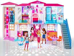 Barbie Glam Bathroom by Barbie Hello Dream House Complete With Party Music And Slide