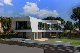 Spanish Villa House Plans Mediterranean Villa Incorporating Dedicated Outdoor Spaces In