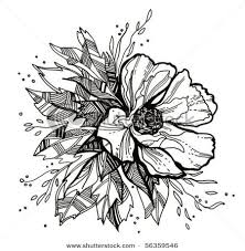 tattoo flower drawings flower drawing this would make a pretty watercolor tattoo