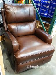 costco deal synergy home furnishings monica recliner synergy leather recliner costco frugalhotspot furniture