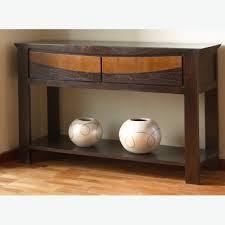 modern wood console table modern furniture post modern wood furniture expansive brick