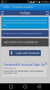 fb app android yoliker autoliker app free android apk 100