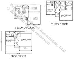 Townhome Floor Plan Designs Modern Townhouse Floor Plan For Sale