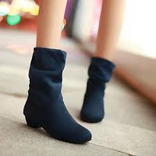 womens style boots nz s shoes nz fashion boots pointed toe low heel mid calf boots